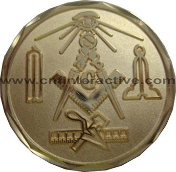 Custom Masonic Coins (6) – CNF Interactive