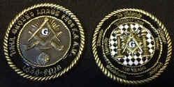 Custom Masonic Challenge Coins